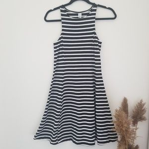 Black & White Stripped Summer Dress by old navy